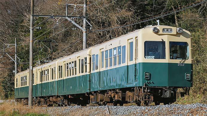 三岐鉄道北勢線200系の前面行先表示がもとに戻る