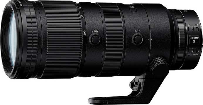 ニコン,「NIKKOR Z 70-200mm f/2.8 VR S」を2月に発売