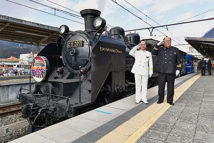 東武鬼怒川線で『帰ってきた!あっぱれ日光!SL大樹珍道中 〜EDO WONDER TRAIN〜』開催