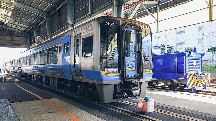 JR四国2000系による団体臨時列車運転