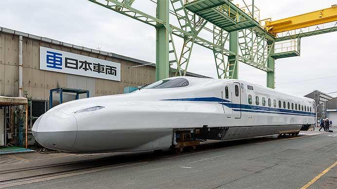 JR東海,「N700S」量産車を報道陣に公開