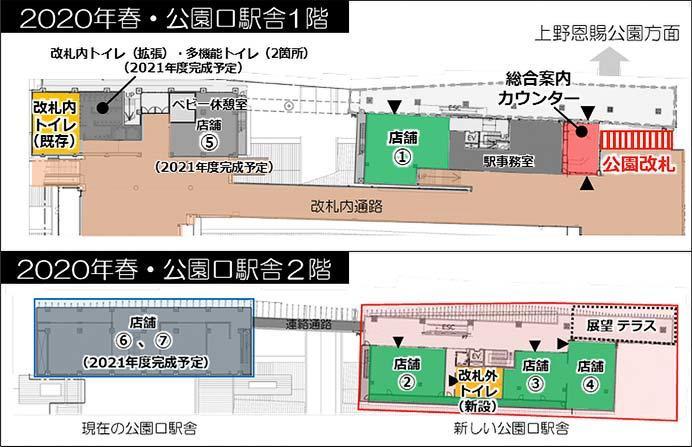 JR東日本,3月20日から上野駅公園口新駅舎の供用を開始