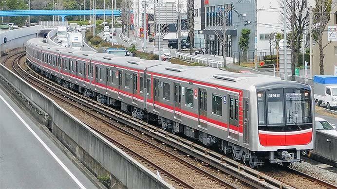 御堂筋線用30000系31614編成が営業運転を開始|鉄道ニュース|2020年2 ...