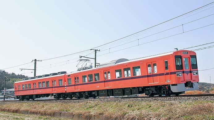 上信電鉄700形第5編成が営業運転を開始