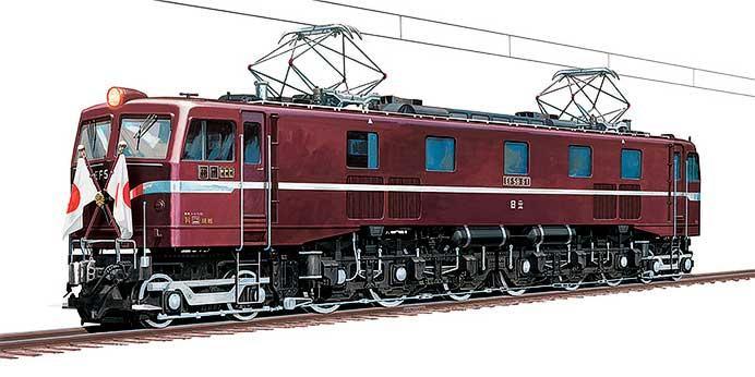 アオシマ,「国鉄直流電気機関車 EF58 ロイヤルエンジン」を発売