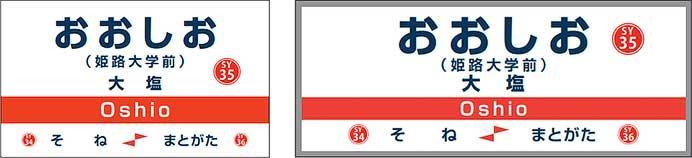 山陽電鉄,3月6日から大塩駅に副駅名称<姫路大学前>を導入