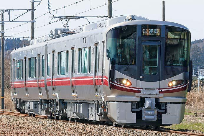 521系100番台が北陸本線で試運転