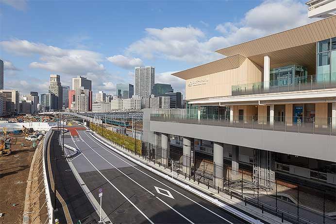 JR東日本,開業直前の高輪ゲートウェイ駅を公開