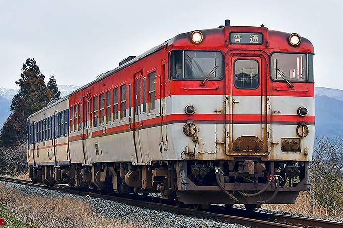 新津運輸区所属のキハ40系による定期列車が終了