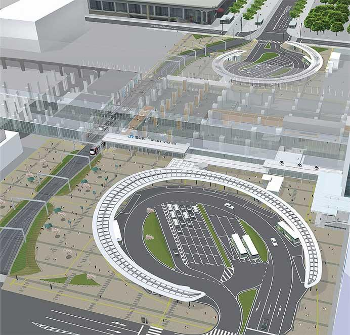 富山地方鉄道,3月21日から富山駅での路面電車南北接続を開始