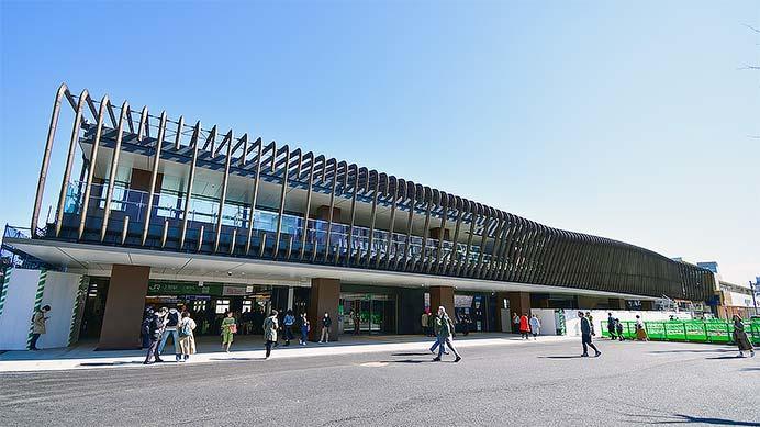 上野駅公園口新駅舎の供用が開始される