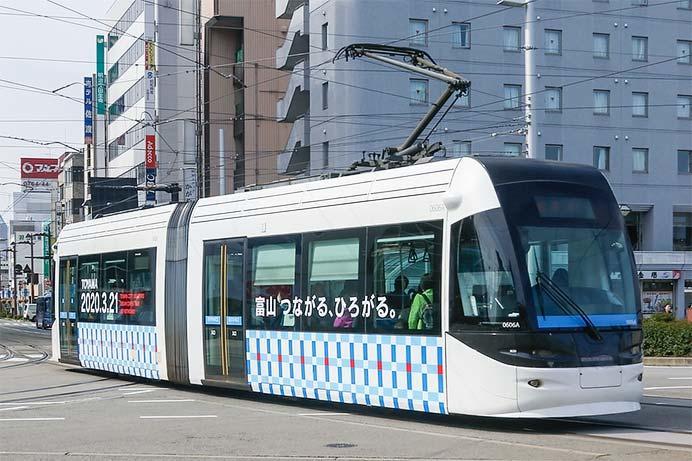 富山地方鉄道で市内線と富山港線の南北接続開業