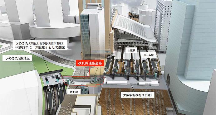 「うめきた」新駅の名称は「大阪駅」に