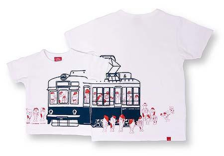 「Carp×広電×OJICOコラボレーションTシャツ(ホワイト)」