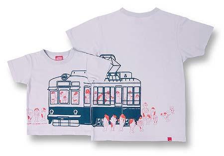 「Carp×広電×OJICOコラボレーションTシャツ(ライトグレー)」