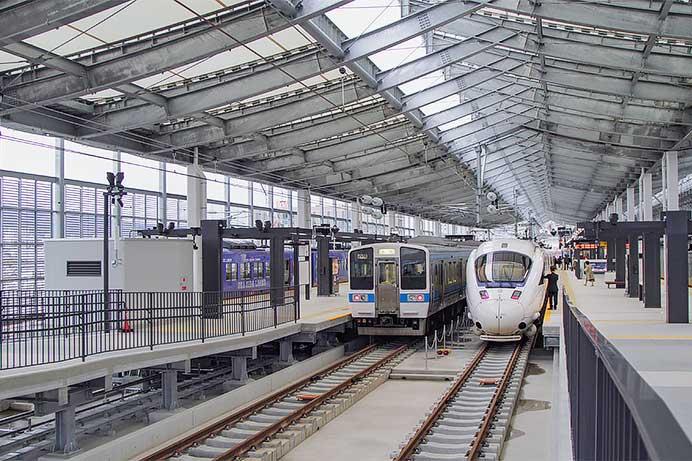 長崎駅が高架化される