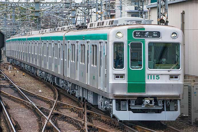 京都市交10系第15編成が試運転