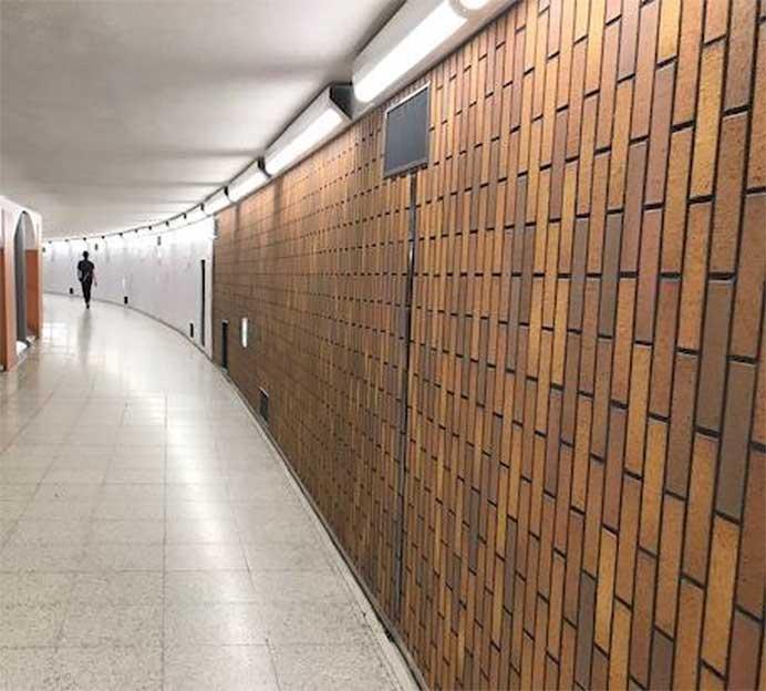 京成上野駅,地下連絡通路のリニューアルが完了