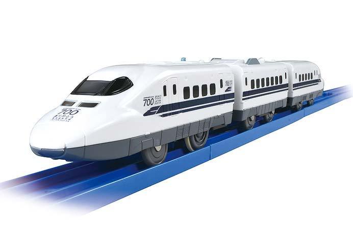 プラレール「ぼくもだいすき!たのしい列車シリーズ ありがとう東海道新幹線700系」発売