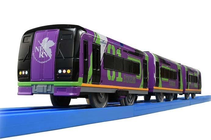 プラレール「ぼくもだいすき!たのしい列車シリーズ エヴァンゲリオン特別仕様ミュースカイ」発売