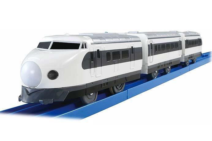 プラレール「ぼくもだいすき!たのしい列車シリーズ ノスタルジックTOKYO 0系新幹線」発売
