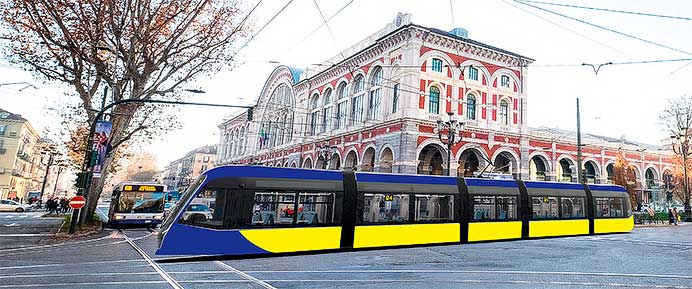 日立レール,イタリアGTT社へ新形トラム70編成を供給する包括契約を締結