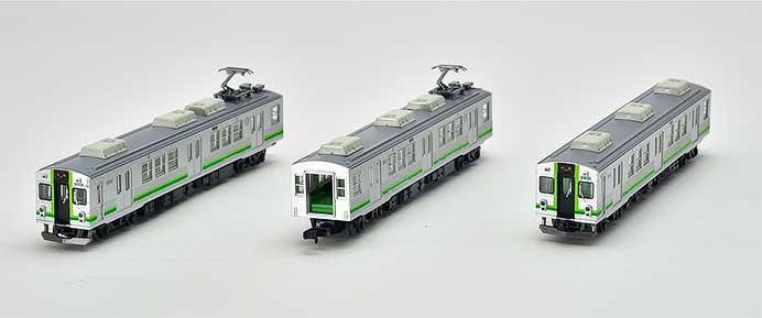 トミーテック,鉄道コレクション「養老鉄道7700系」の試作品を公開