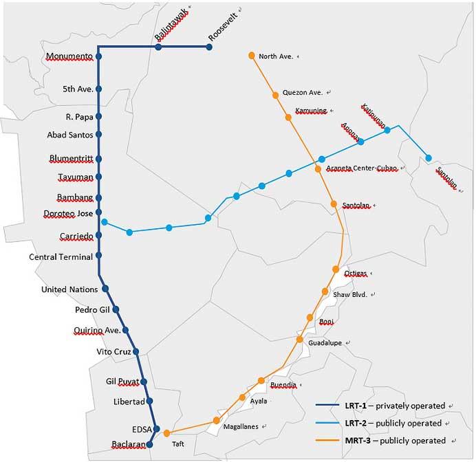 住友商事,フィリピン・マニラLRT1号線運営事業会社への出資に参画
