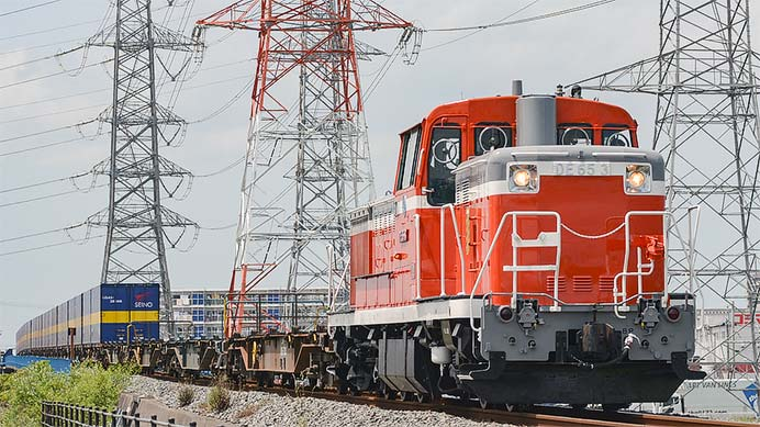 仙台臨海鉄道が導入したDE65 3が活躍中