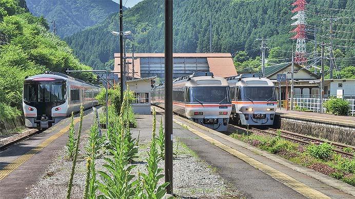 HC85系が高山本線で試験走行を実施
