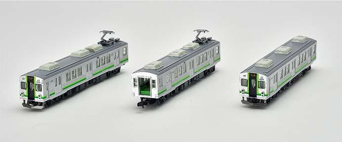 養老鉄道7700系TQ12編成(緑歌舞伎)3両セットA