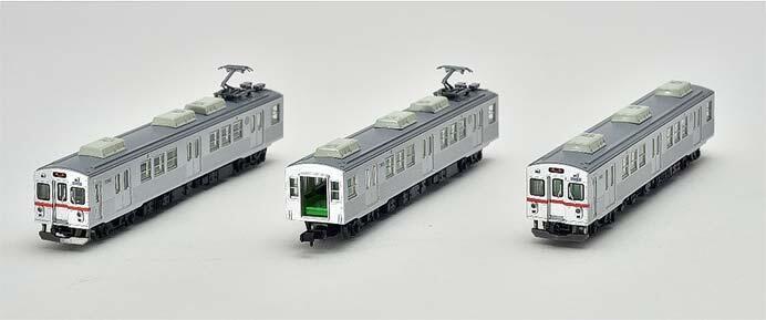 養老鉄道7700系TQ03編成(赤帯)3両セットB