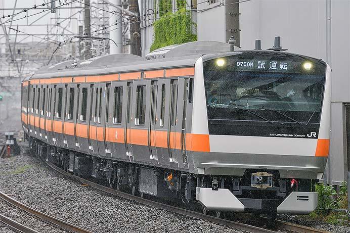 中央快速線用のE233系0番台T71編成が登場
