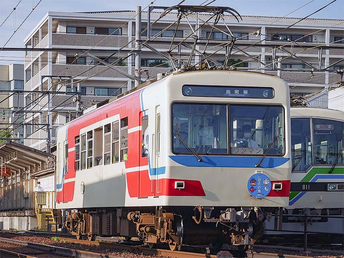 叡山電鉄で「悠久の風号」の運転開始