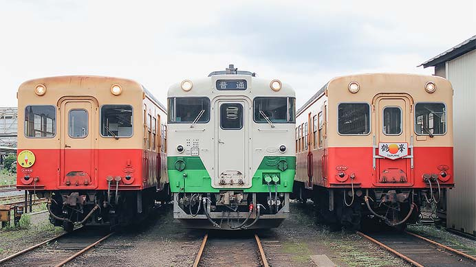 小湊鐵道五井機関区で撮影会開催
