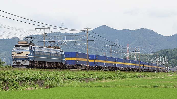 EF66 27が2059列車(カンガルーライナーSS60)をけん引