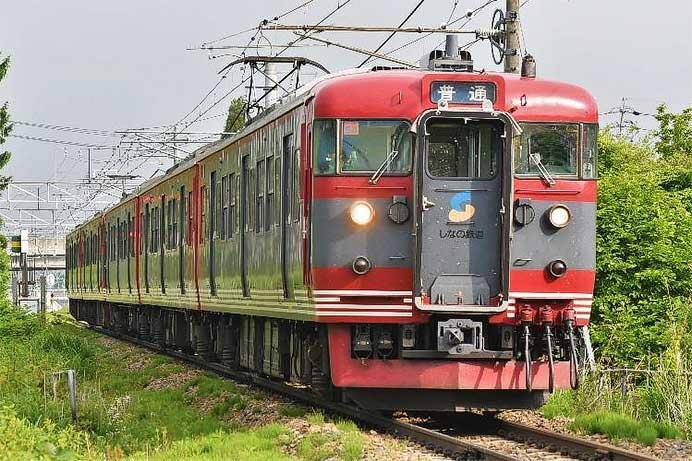 しなの鉄道,115系2編成(S6・S23編成)の引退を発表