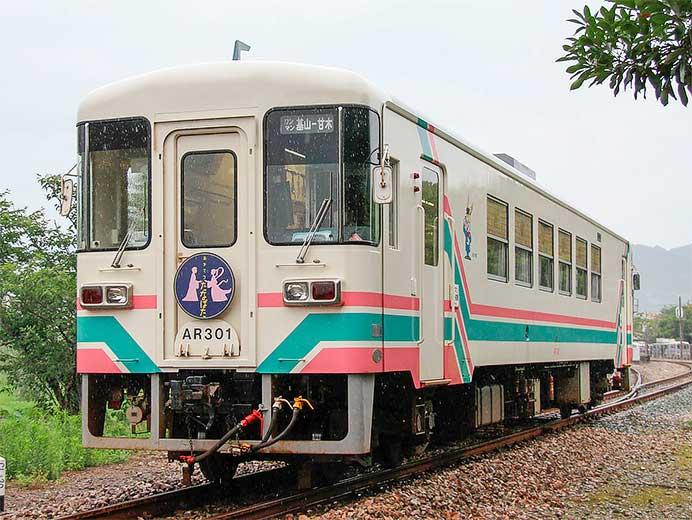 甘木鉄道で「たなばた列車」運転