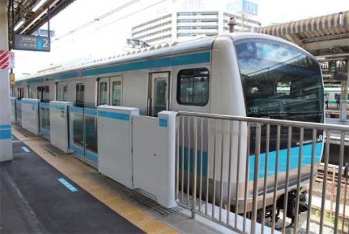 京浜東北線日暮里駅にホームドアを設置へ