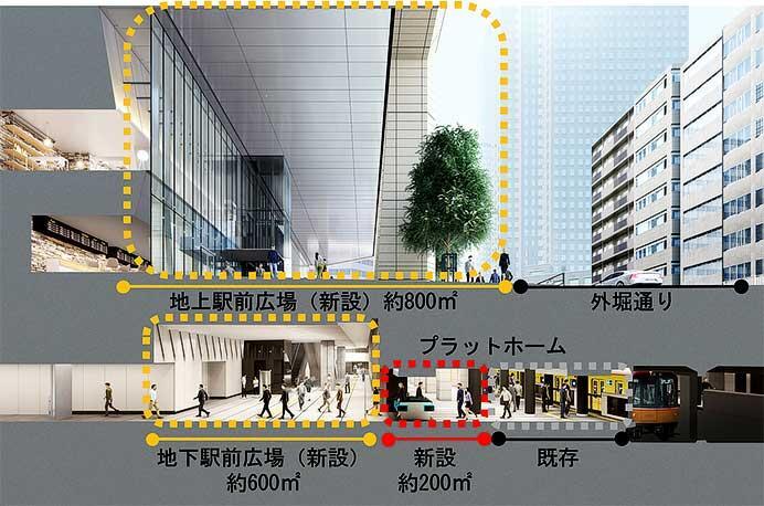 東京メトロ,銀座線虎ノ門駅の改良工事が完了