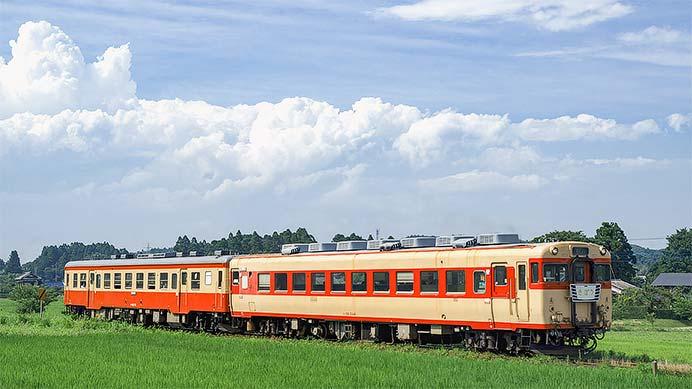 いすみ鉄道で急行列車の運転が再開される