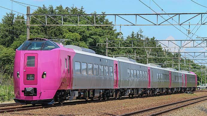 キハ261系5000番台が函館本線で試運転を実施