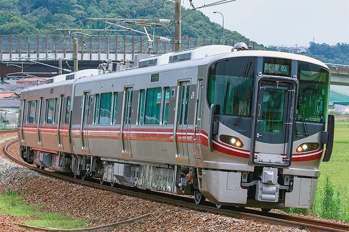 521系100番台U03編成が,北陸本線で試運転