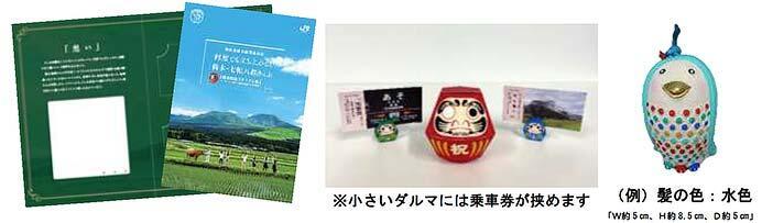 JR九州,豊肥本線全線開通記念で「熊本・七転び八起きっぷ」を発売
