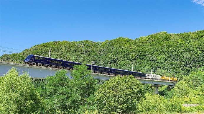 「THE ROYAL EXPRESS〜HOKKAIDO CRUISE TRAIN〜」の運転が開始される