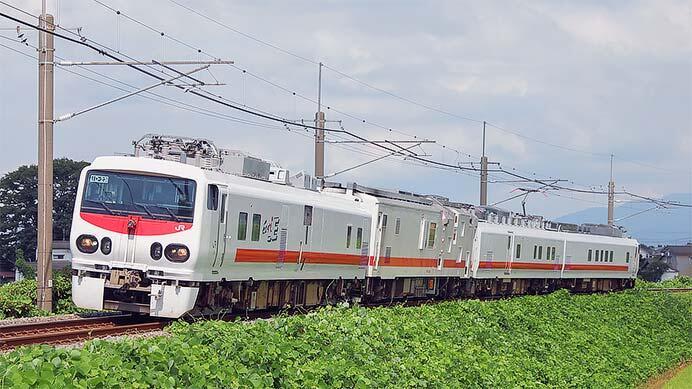 E491系「East i-E」とマヤ50 5001が新潟県内を検測
