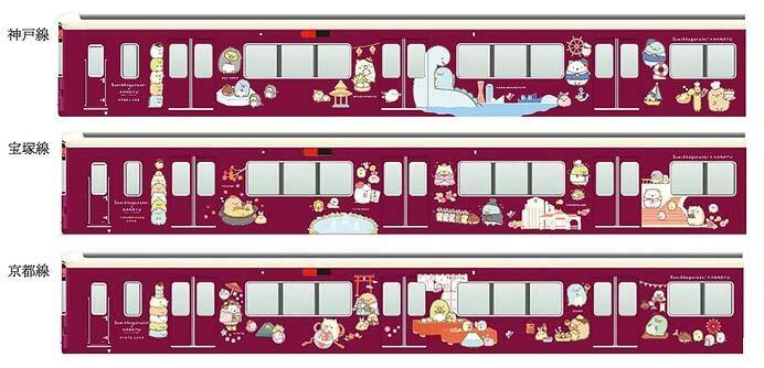 阪急電鉄・「すみっコぐらし」 コラボレーション企画を実施