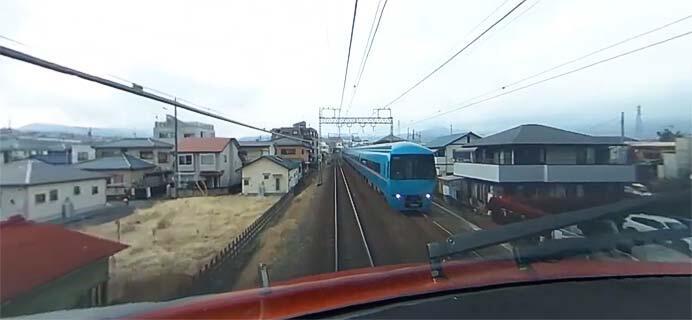 小田急,ロマンスカー70000形「GSE」運転室と展望席の360°パノラマ動画を公開