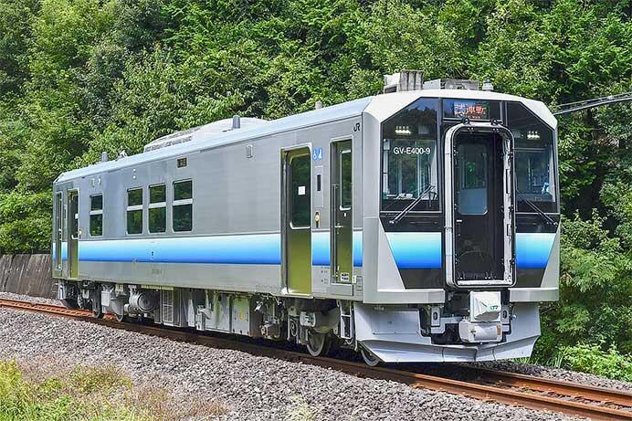八高線でGV-E400系による走行試験