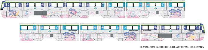 東京モノレール,「キキ&ララ モノレール」を9月14日から運転